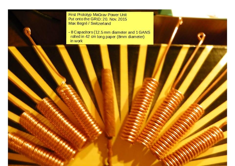 Magrav power unit